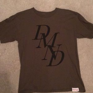 Army Green Diamond Supply Co T-Shirt
